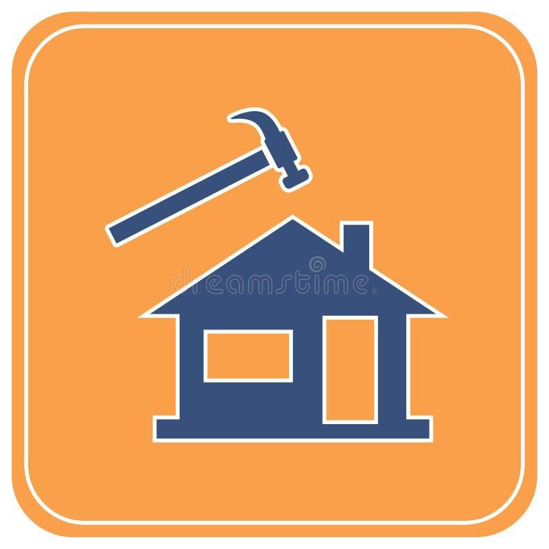 Icono del Roofer/del pizarrero libre illustration