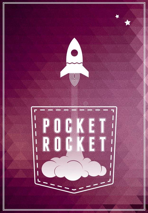 Icono del símbolo del vehículo espacial stock de ilustración