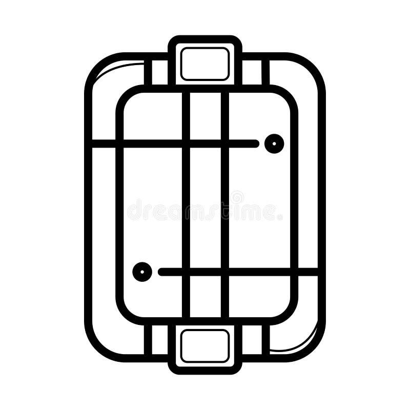 Icono del salón de pelo libre illustration