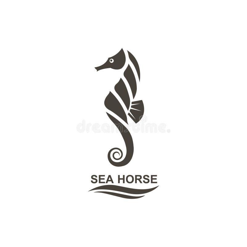 Icono del seahorse libre illustration