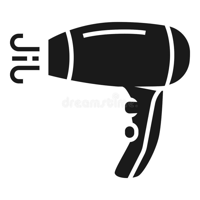 Icono del secador de pelo, estilo simple libre illustration
