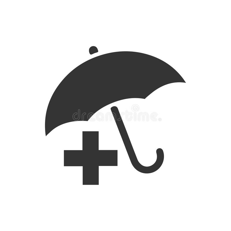 Icono del seguro médico libre illustration