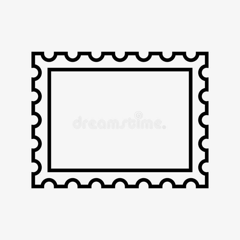 Icono del sello ilustración del vector