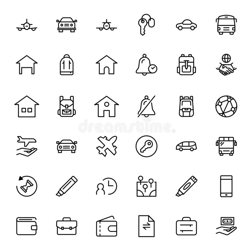 Icono del servicio de hotel libre illustration