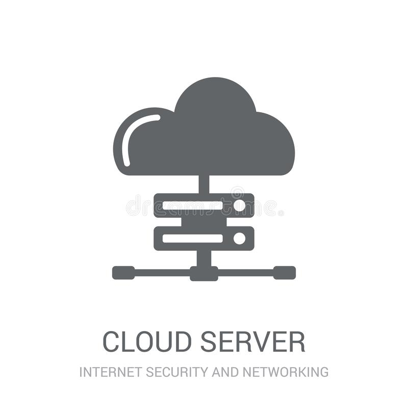 Icono del servidor de la nube  libre illustration