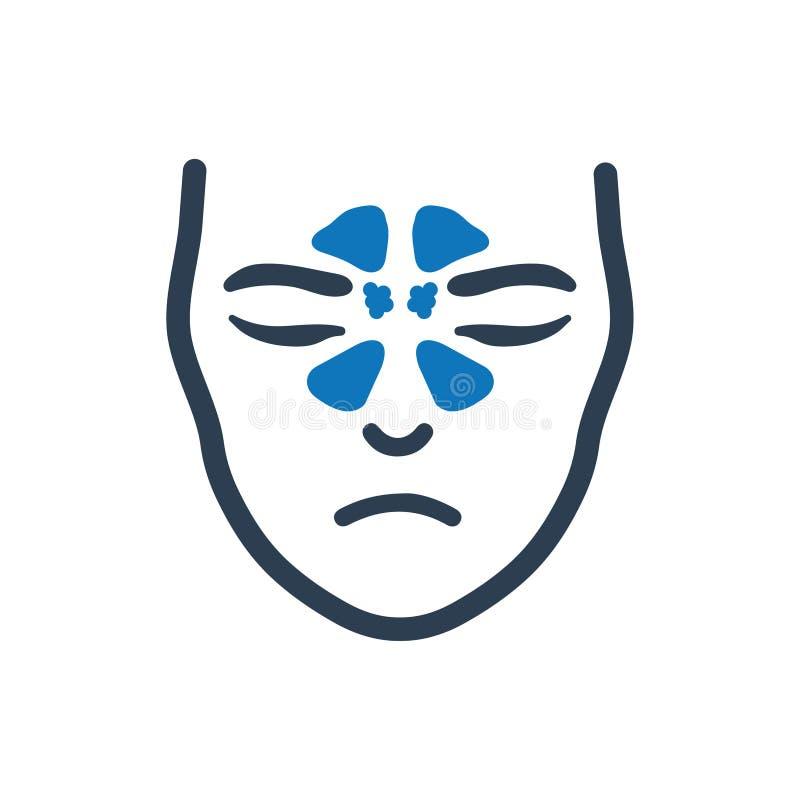 Icono del sistema del sino stock de ilustración