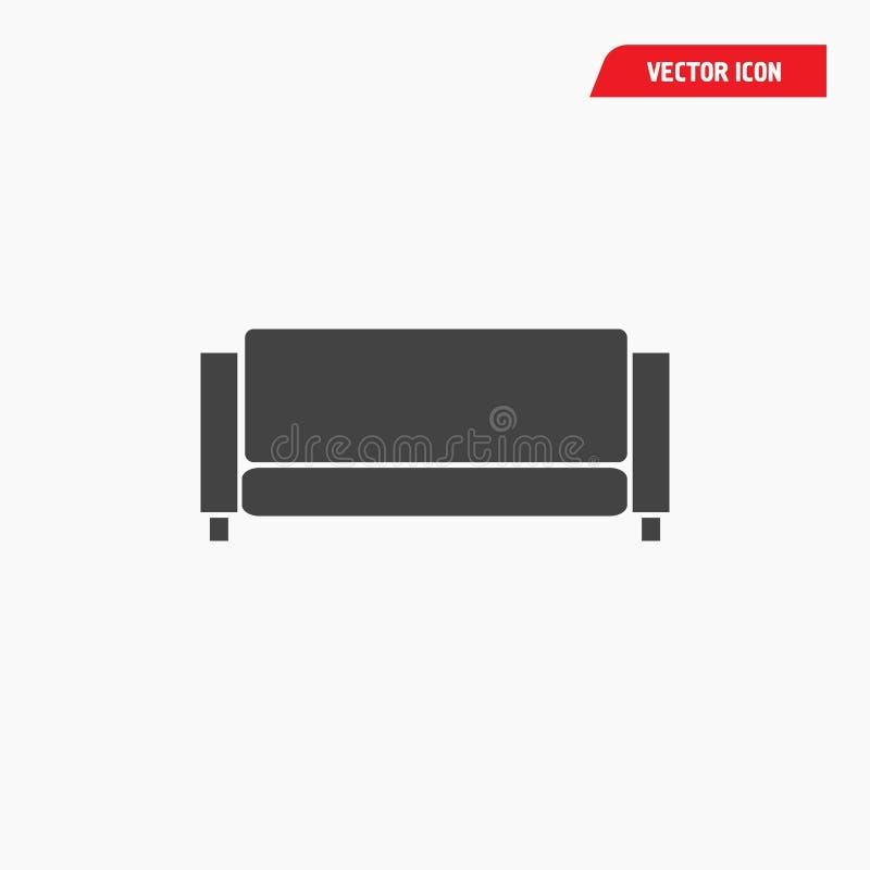 Icono del sof? ilustración del vector