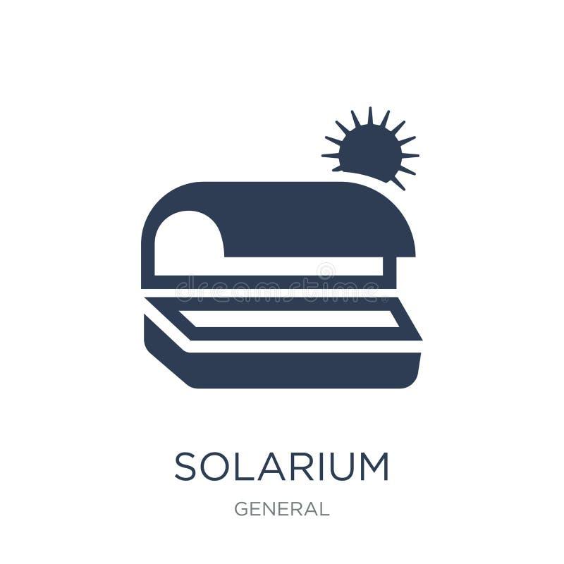 Icono del solarium  ilustración del vector