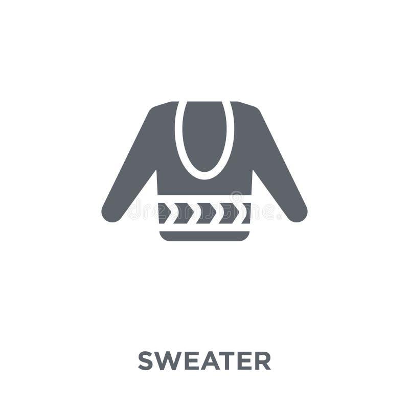 Icono del suéter de la colección libre illustration