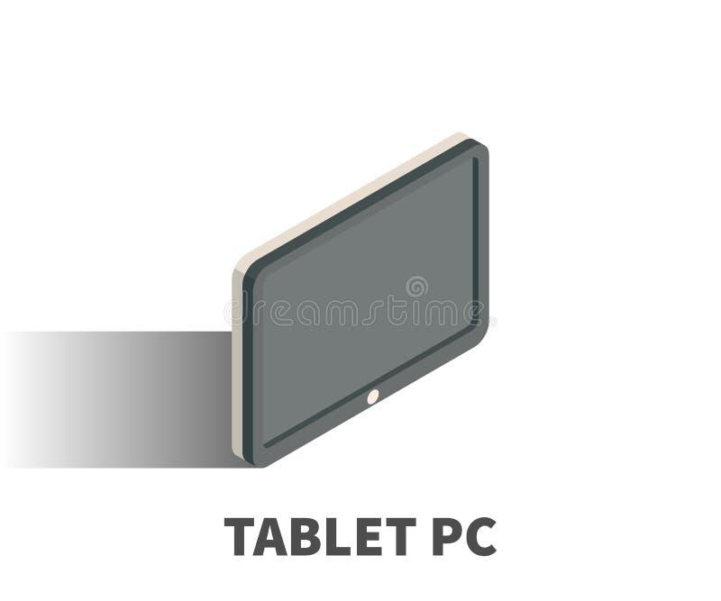 Icono del Tablet PC, símbolo del vector libre illustration