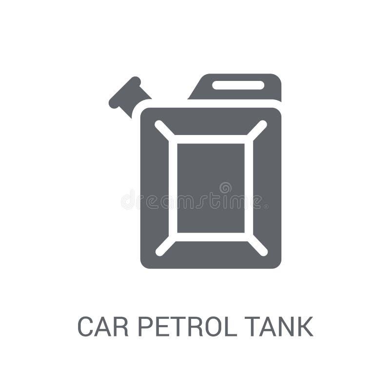 icono del tanque de gasolina del coche  ilustración del vector