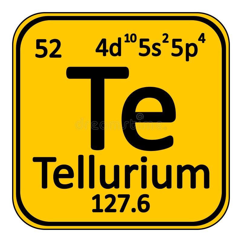 Icono del telurio del elemento de tabla peridica stock de download icono del telurio del elemento de tabla peridica stock de ilustracin ilustracin de nantes urtaz Gallery