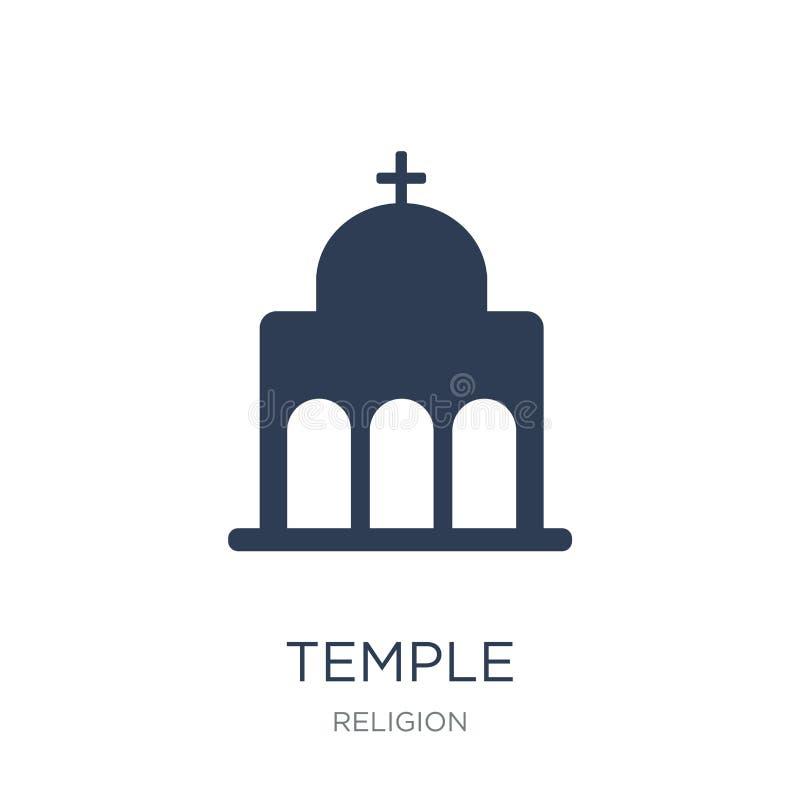 Icono del templo  ilustración del vector