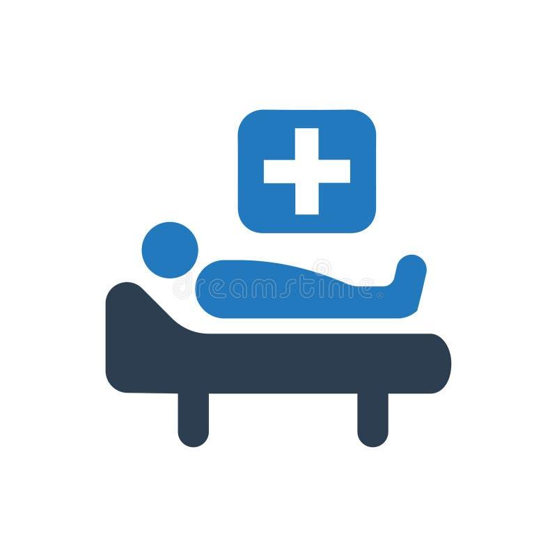 Icono del tratamiento médico ilustración del vector