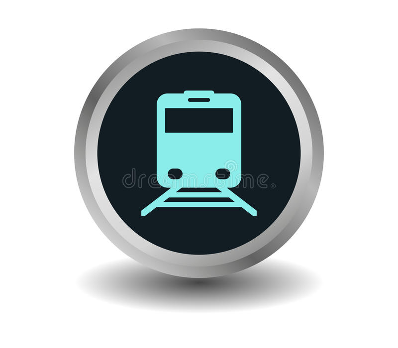 Icono del tren libre illustration