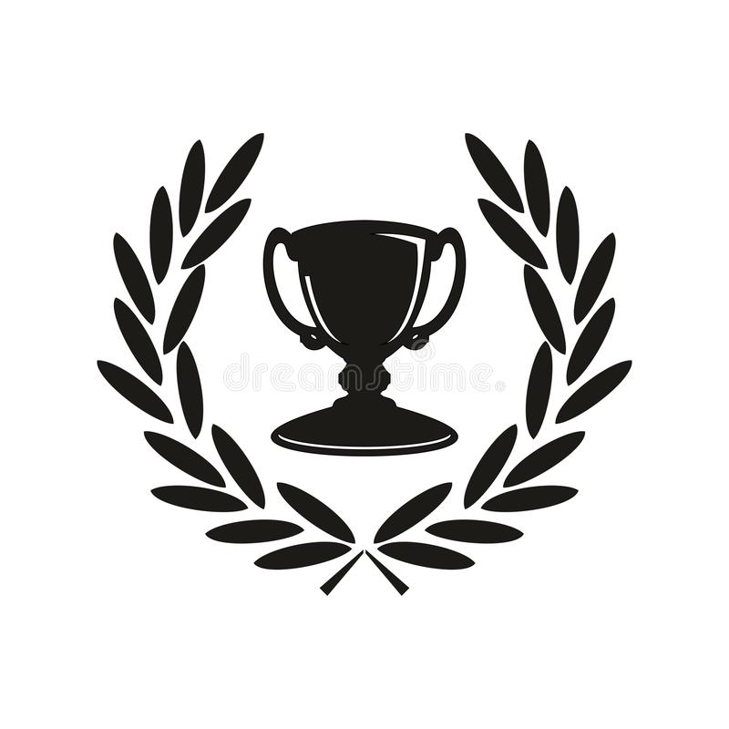Icono del trofeo foto de archivo
