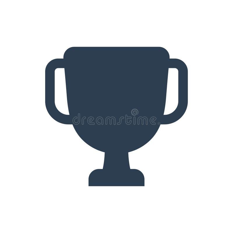 Icono del trofeo ilustración del vector