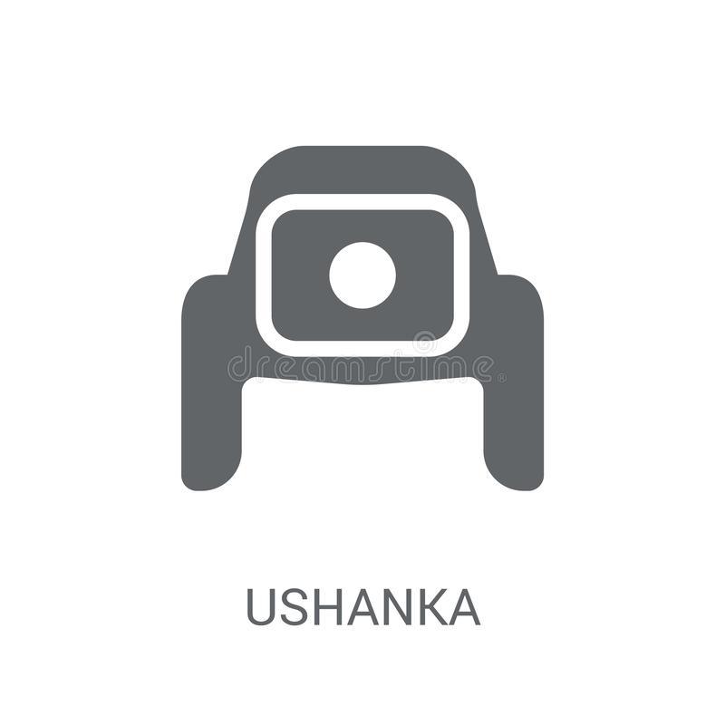 icono del ushanka  libre illustration
