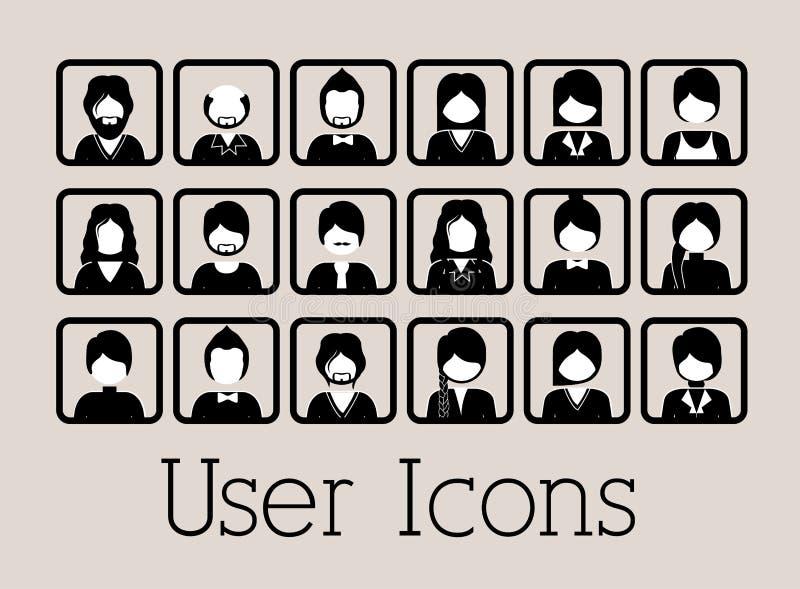 Icono del usuario libre illustration