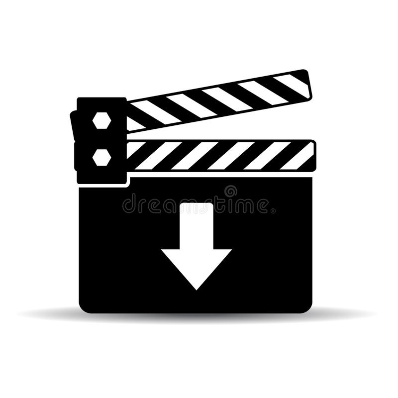 Icono del vídeo de la transferencia directa libre illustration