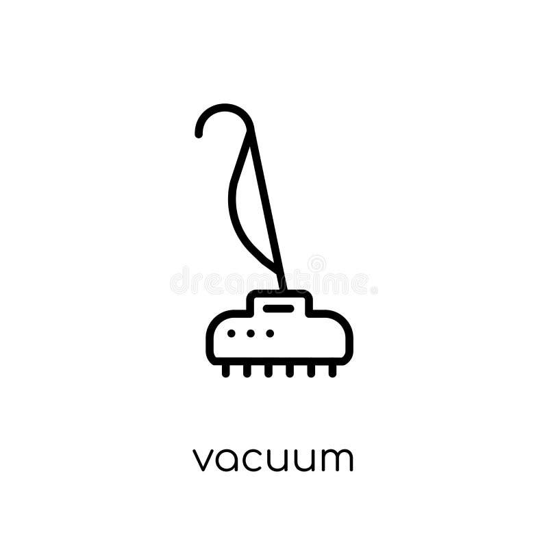 Icono del vacío Icono linear plano moderno de moda del vacío del vector en whi libre illustration