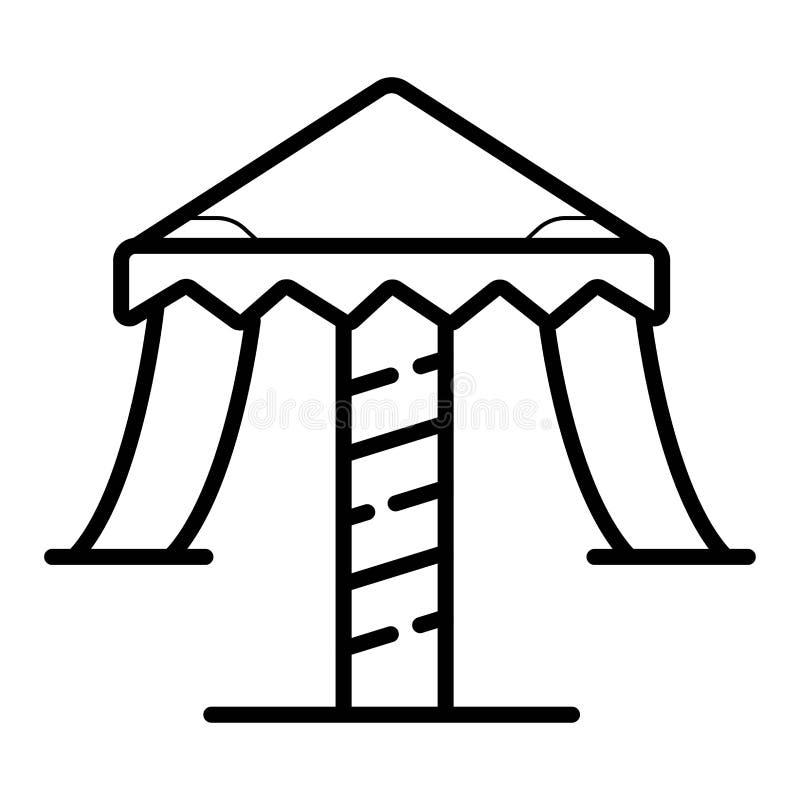 Icono del vector del carrusel libre illustration