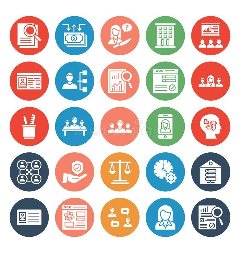 Icono del vector del comercio del negocio del icono del vector del comercio del negocio stock de ilustración