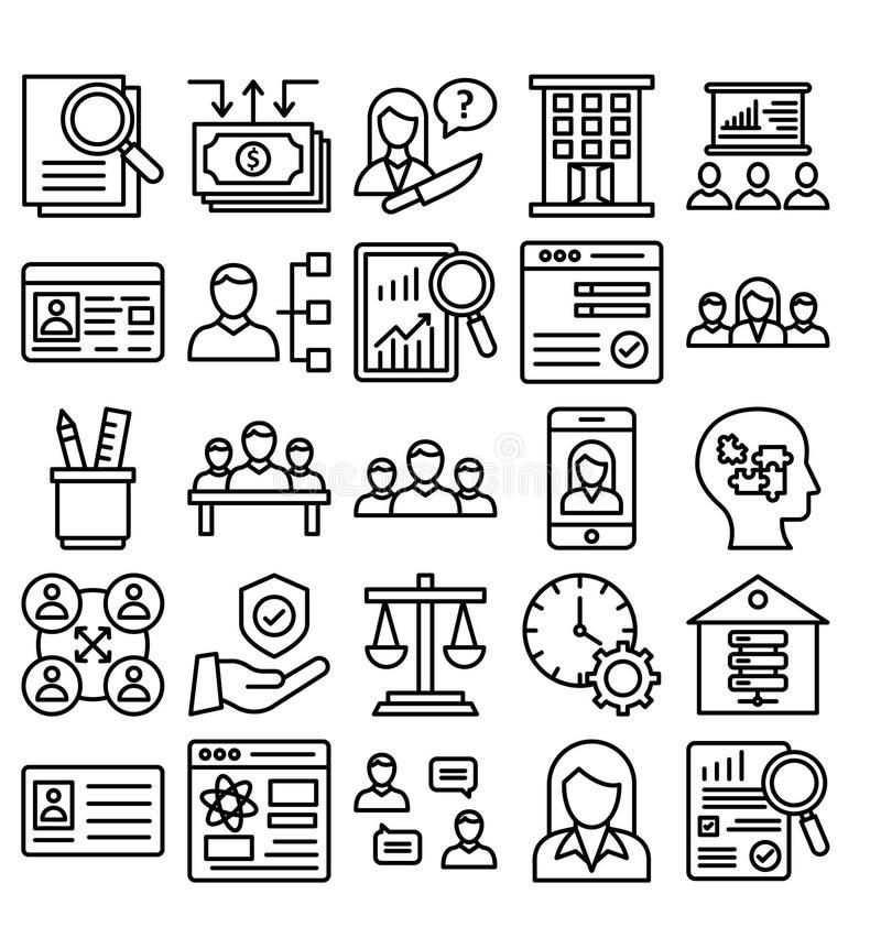 Icono del vector del comercio del negocio editable stock de ilustración