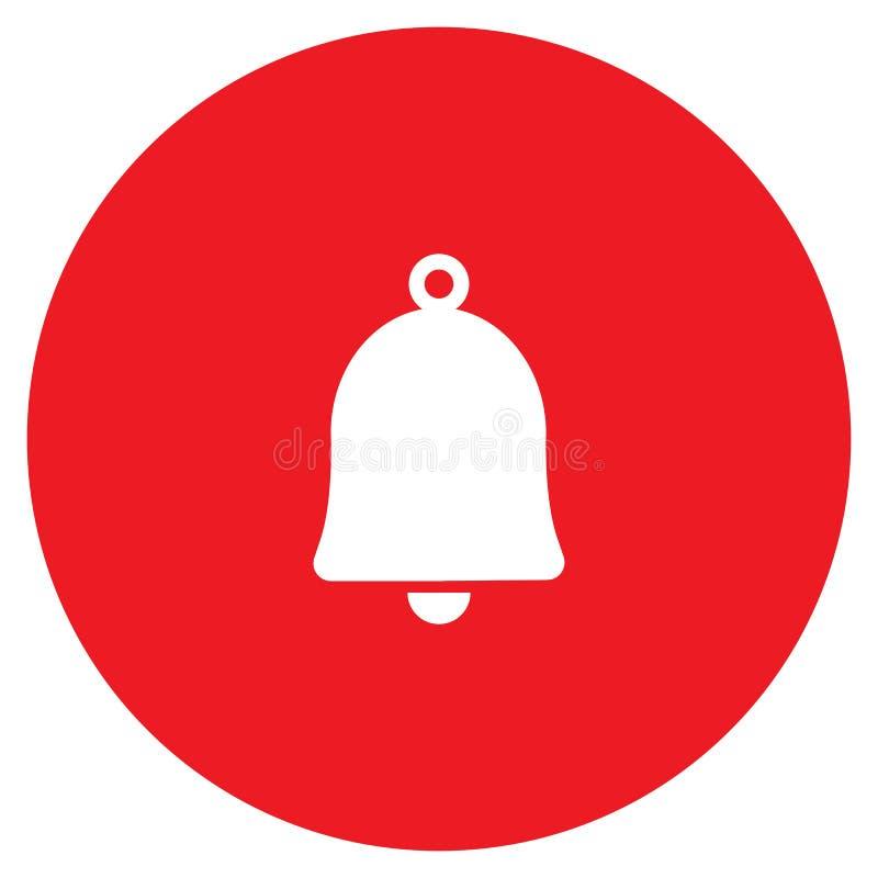 Icono del vector de Bell ilustración del vector