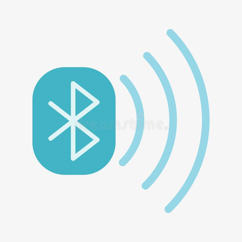 Icono del vector de Bluetooth libre illustration