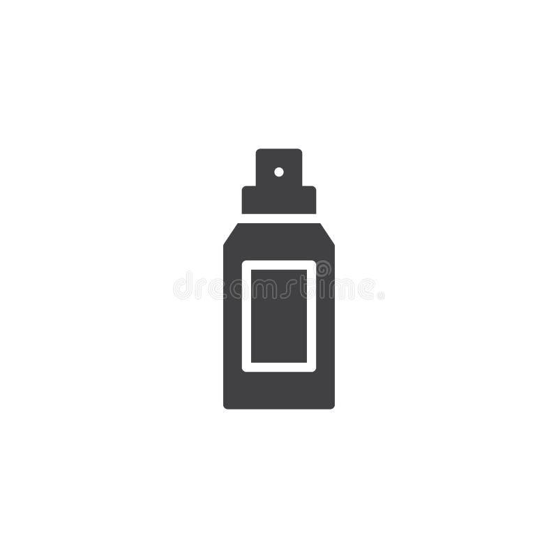 Icono del vector de la botella del desodorante libre illustration