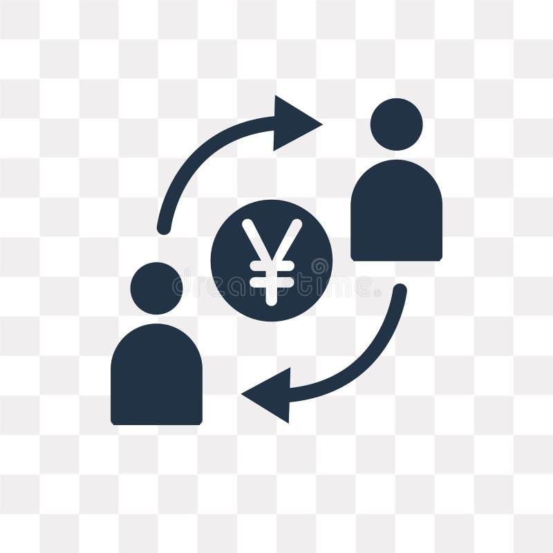 Icono del vector de la Comisión aislado en el fondo transparente, Commi libre illustration