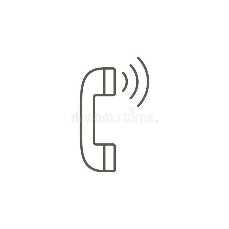 Icono del vector de la comunicaci?n Ejemplo simple del elemento del mapa y del concepto de la navegaci?n Icono del vector de la c libre illustration