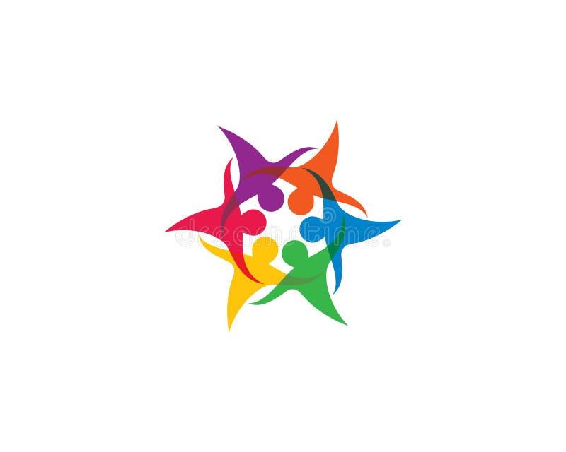 Icono del vector de la comunidad ilustración del vector
