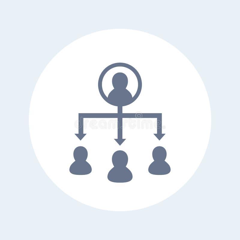 Icono del vector de la delegación libre illustration