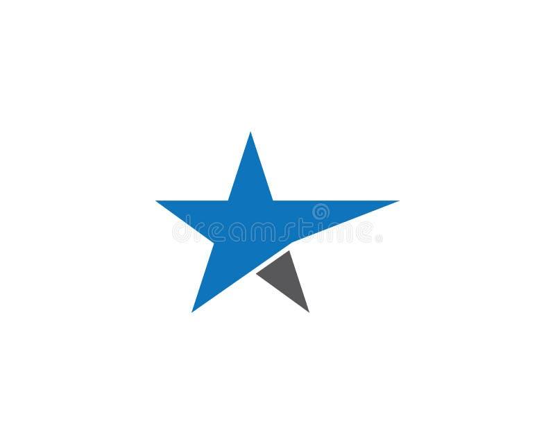 Icono del vector de la estrella ilustración del vector