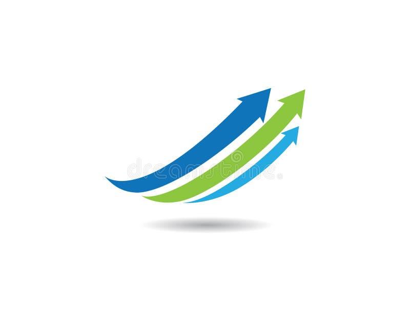 Icono del vector de la flecha stock de ilustración