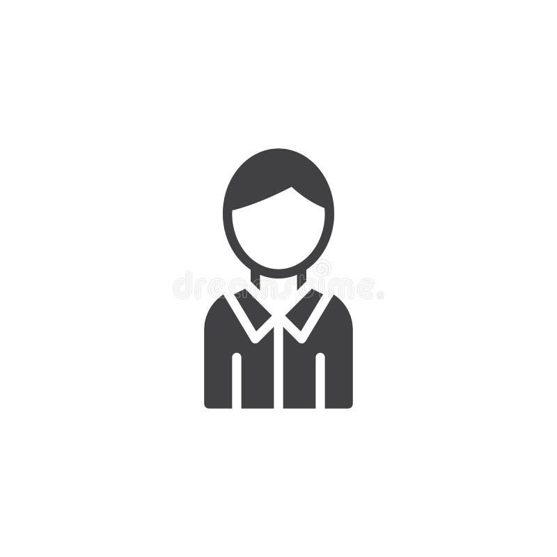 Icono del vector de la guía del hombre libre illustration