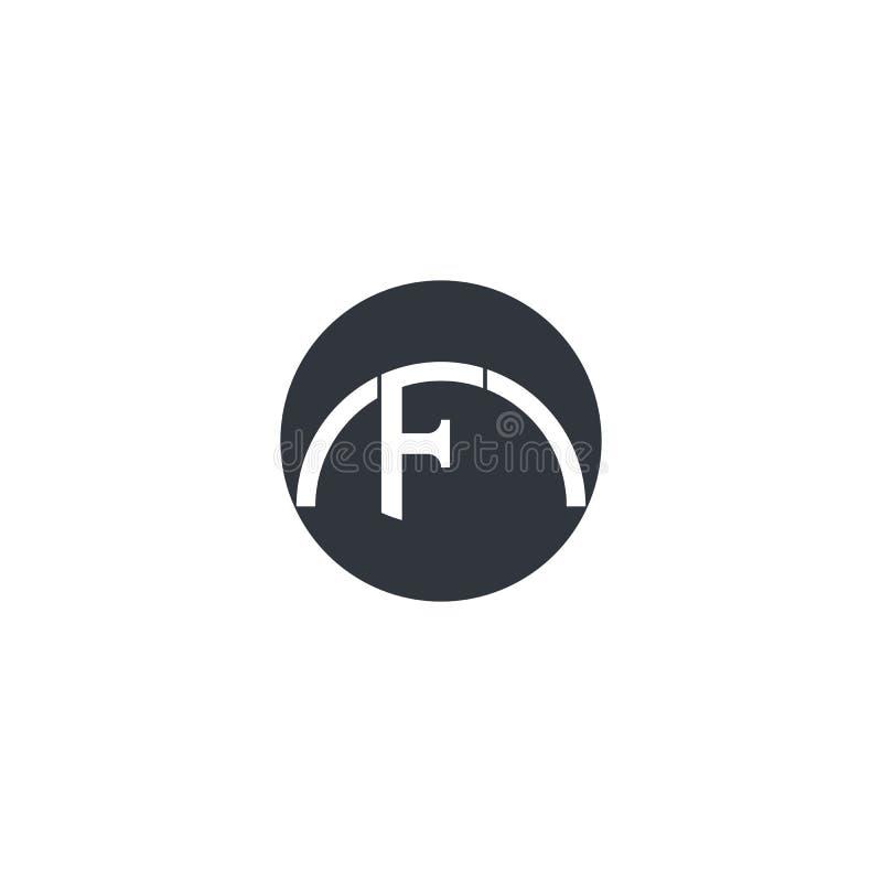 Icono del vector de la letra de F libre illustration