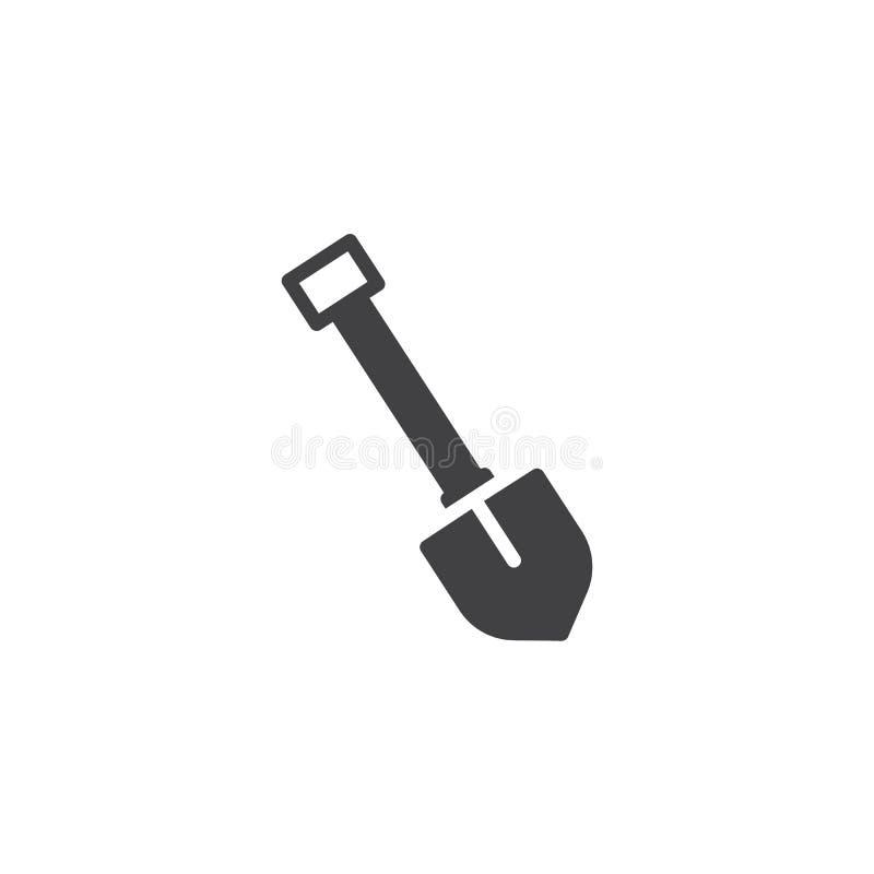 Icono del vector de la pala libre illustration