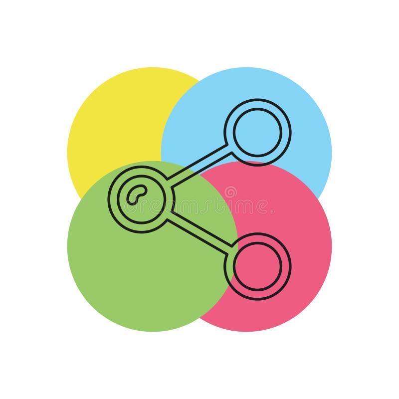 Icono del vector de la parte stock de ilustración
