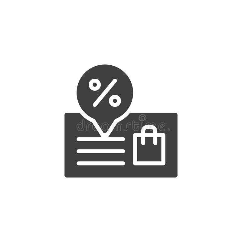 Icono del vector de la promoción libre illustration