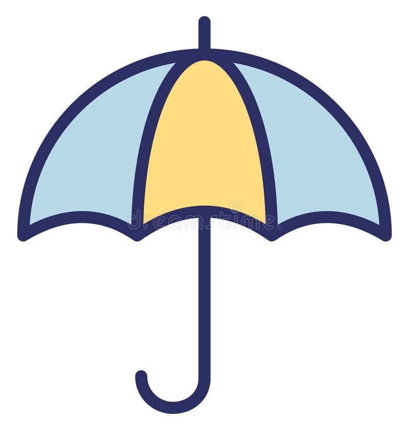 Icono del vector de la sombrilla de la poder que puede modificado fácilmente o corregir libre illustration