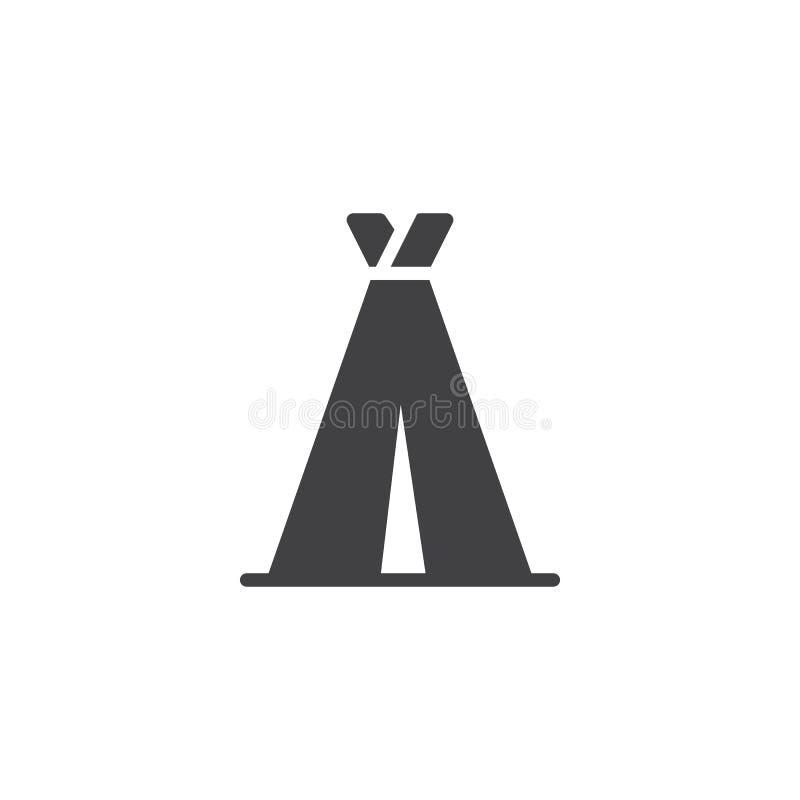 Icono del vector de la tienda del viaje ilustración del vector