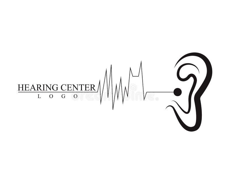 Icono del vector de Logo Template de la audiencia ilustración del vector