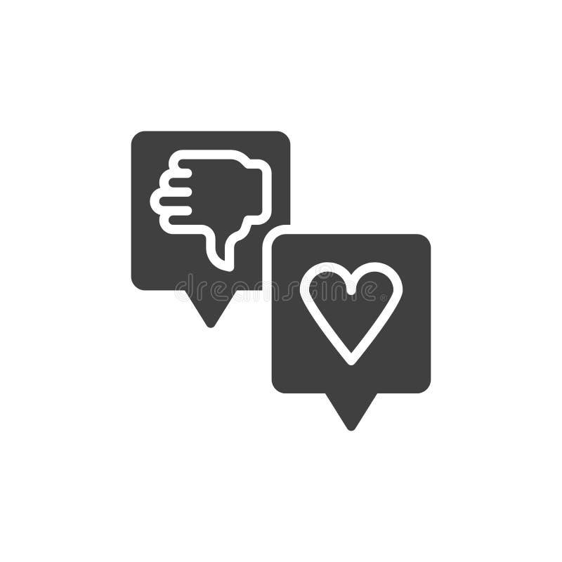 Icono del vector de los comentarios de clientes libre illustration