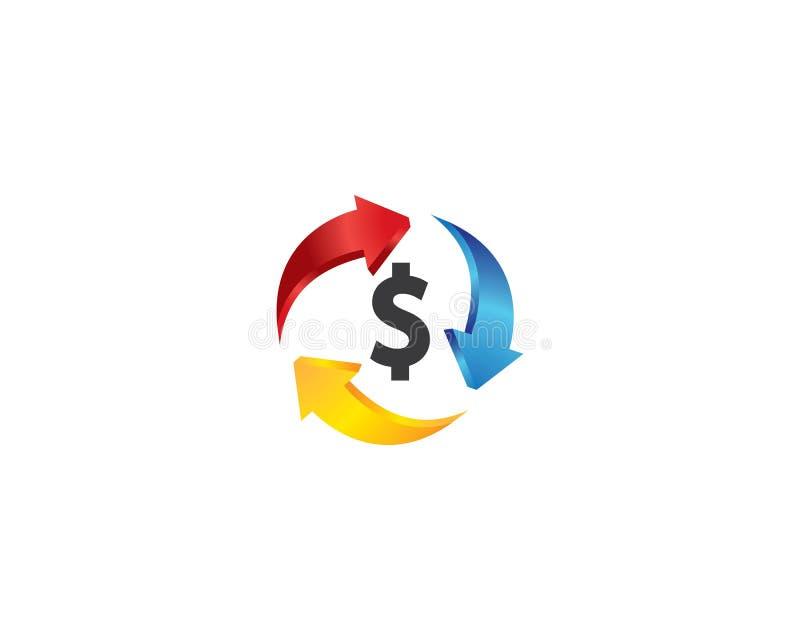 Icono del vector del dinero stock de ilustración