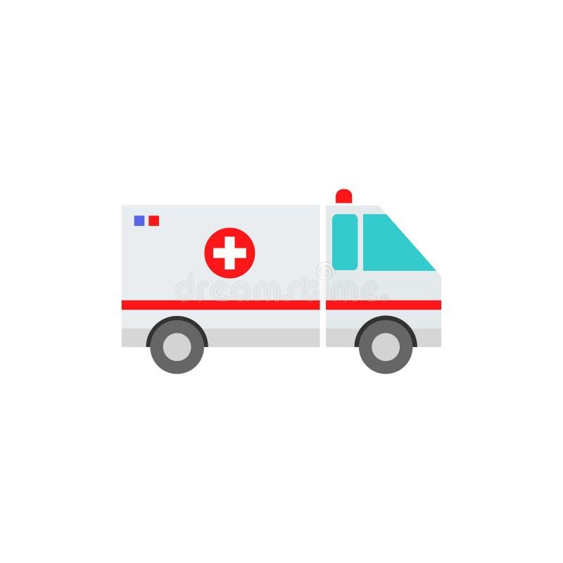 Icono del veh?culo de la ambulancia libre illustration