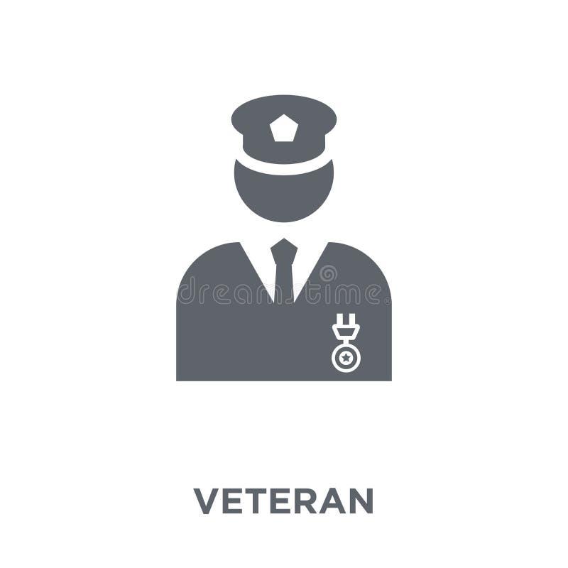 Icono del veterano de la colección del ejército libre illustration