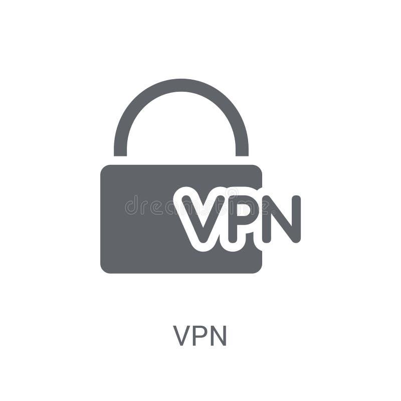 Icono del VPN  stock de ilustración